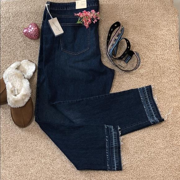 4b8850d8f786c UNIVERSAL THREAD Released Hem Boyfriend Jeans PLUS